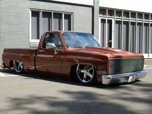 1983 Chevrolet C10 SHORTBED FULLY BAGGED C 10 CHEVY V8 For Sale (picture 3 of 10)