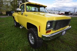 Picture of 1973 Chevrolet K-10 Pickup SOLD by Auction