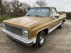1984 Chevy C10 Scottsdale Auto PROJECT For Sale (picture 1 of 12)