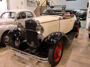 CHEVROLET INDEPENDENCE ROADSTER - 1931 For Sale (picture 1 of 12)