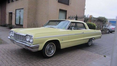 Chevrolet Impala SS Coupe1964 & 50 USA Classics For Sale (picture 1 of 6)