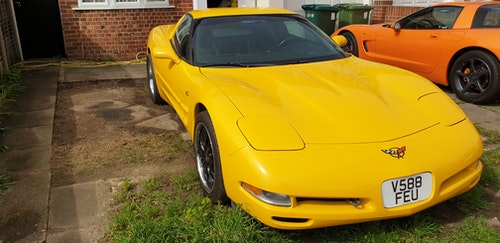 Picture of 2000 Corvette C5 coupe millennium yellow For Sale