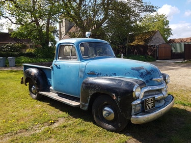 Picture of 1954 Chevy 3100 5 Window Deluxe Cab HYDRA-MATIC short bed  For Sale