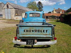 1954 Chevy 3100 5 Window Deluxe Cab HYDRA-MATIC short bed For Sale (picture 4 of 7)