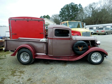 Picture of 1935 Chevrolet 100 Pickup Truck Custom Harley 454 AT $30k For Sale