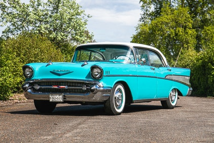Picture of 1957 Chevrolet Bel Air 4-door Sport Sedan For Sale by Auction