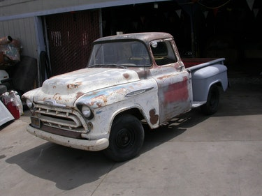 Picture of 1957 V8 POWER MANUAL TRANS THAT CLASSIC 57 BULLET HOOD $12450 For Sale