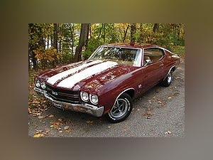 1970 Chevrolet Chevelle SS396 Coupe 396(~)400 Gold $74.9k For Sale (picture 1 of 5)