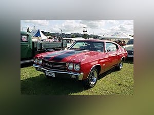 1970 Chevrolet Chevelle SS396 Coupe 396(~)400 Gold $74.9k For Sale (picture 2 of 5)