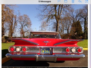 Beautiful 1960 Chevrolet Impala. stunning condition For Sale (picture 6 of 11)