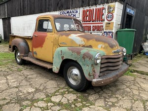 1953 Chevy 3100 Pickup, 5-window, project, UK registered For Sale (picture 1 of 12)