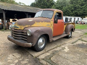 1953 Chevy 3100 Pickup, 5-window, project, UK registered For Sale (picture 2 of 12)