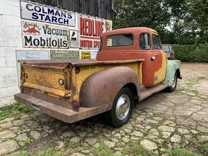 1953 Chevy 3100 Pickup, 5-window, project, UK registered For Sale (picture 3 of 12)