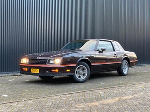 1985 Monte Carlo, Chevrolet Monte Carlo, Chevrolet Monte Carlo SS For Sale (picture 1 of 12)