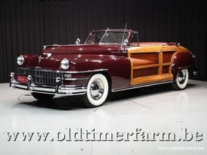 1948 Chrysler Town and Country 2 door Convertible '48 For Sale (picture 1 of 12)