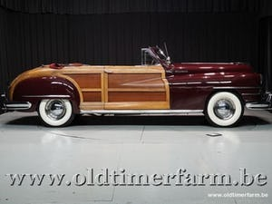 1948 Chrysler Town and Country 2 door Convertible '48 For Sale (picture 3 of 12)