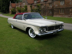 1963 Chrysler Imperial Crown Convertable For Sale (picture 1 of 8)