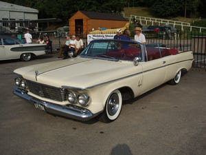 1963 Chrysler Imperial Crown Convertable For Sale (picture 3 of 8)