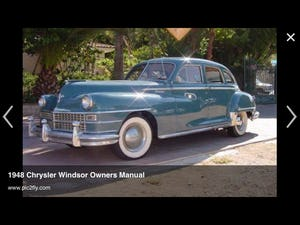 1948 Chrysler Windsor For Sale (picture 6 of 6)