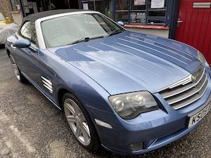2005 chrysler crossfire roadster low mileage   nice condition For Sale (picture 1 of 12)