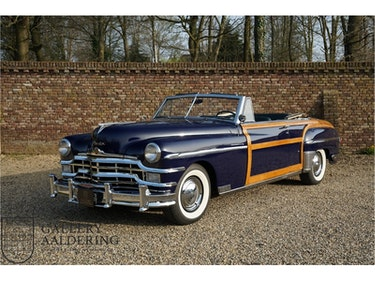 Picture of 1949 Chrysler Town and Country 2-door convertible, very rare, fac For Sale