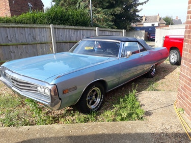 Picture of 1970 Chrysler Newport convertible For Sale