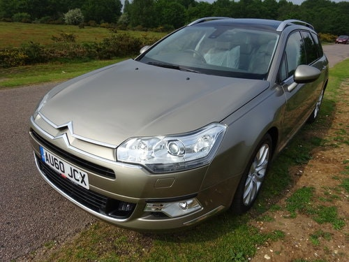 2010 (60) CITROEN C5 3.0HDi V6 AUTO,EXCLUSIVE,LEATHER,SAT NA SOLD (picture 1 of 6)
