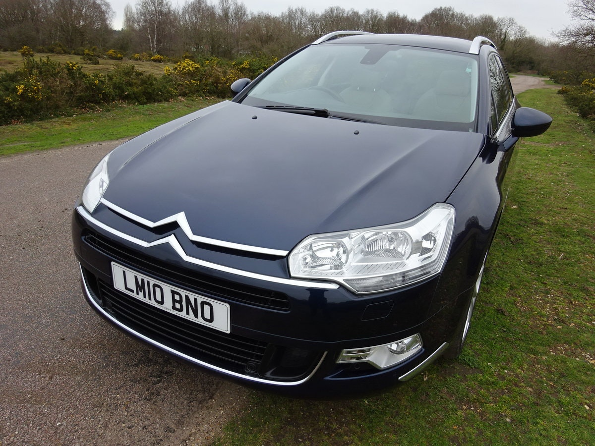 2010,CITROEN C5 3.0HDi V6 AUTO,EXCLUSIVE,TOURER, For Sale (picture 1 of 6)