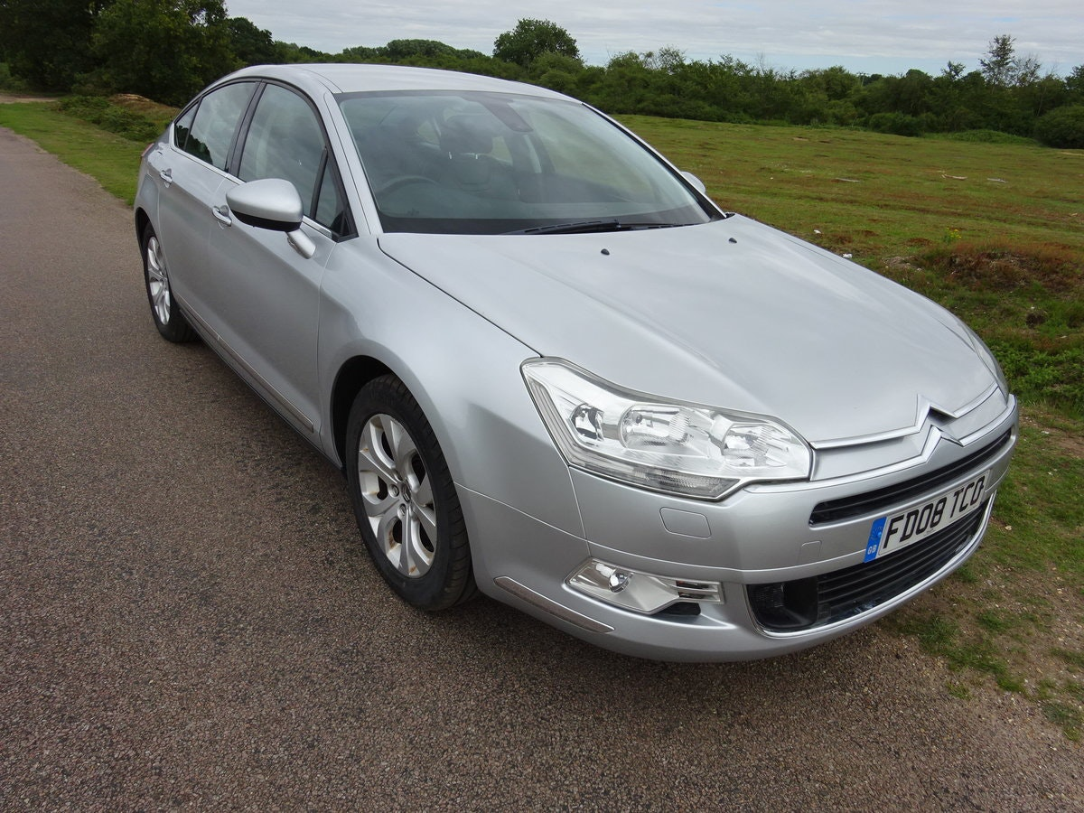 2008 Citroen C5 2.0i PETROL EXCLUSIVE AUTO - ONLY ONE IN UK! For Sale (picture 2 of 6)