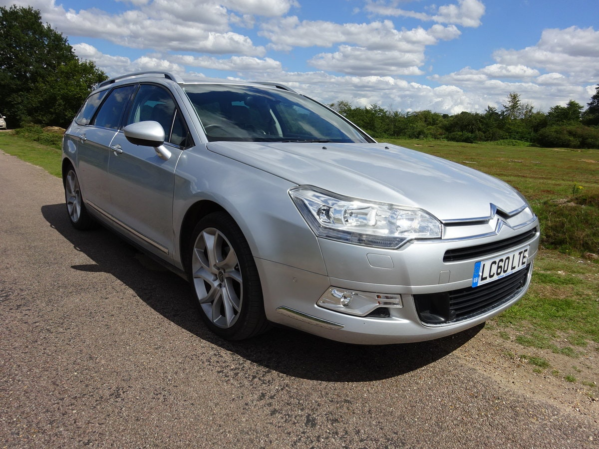 2010 CITROEN C5 2.0HDi ( 160bhp ) EXCLUSIVE, HALF LEATHER, 6 SPD SOLD (picture 2 of 6)
