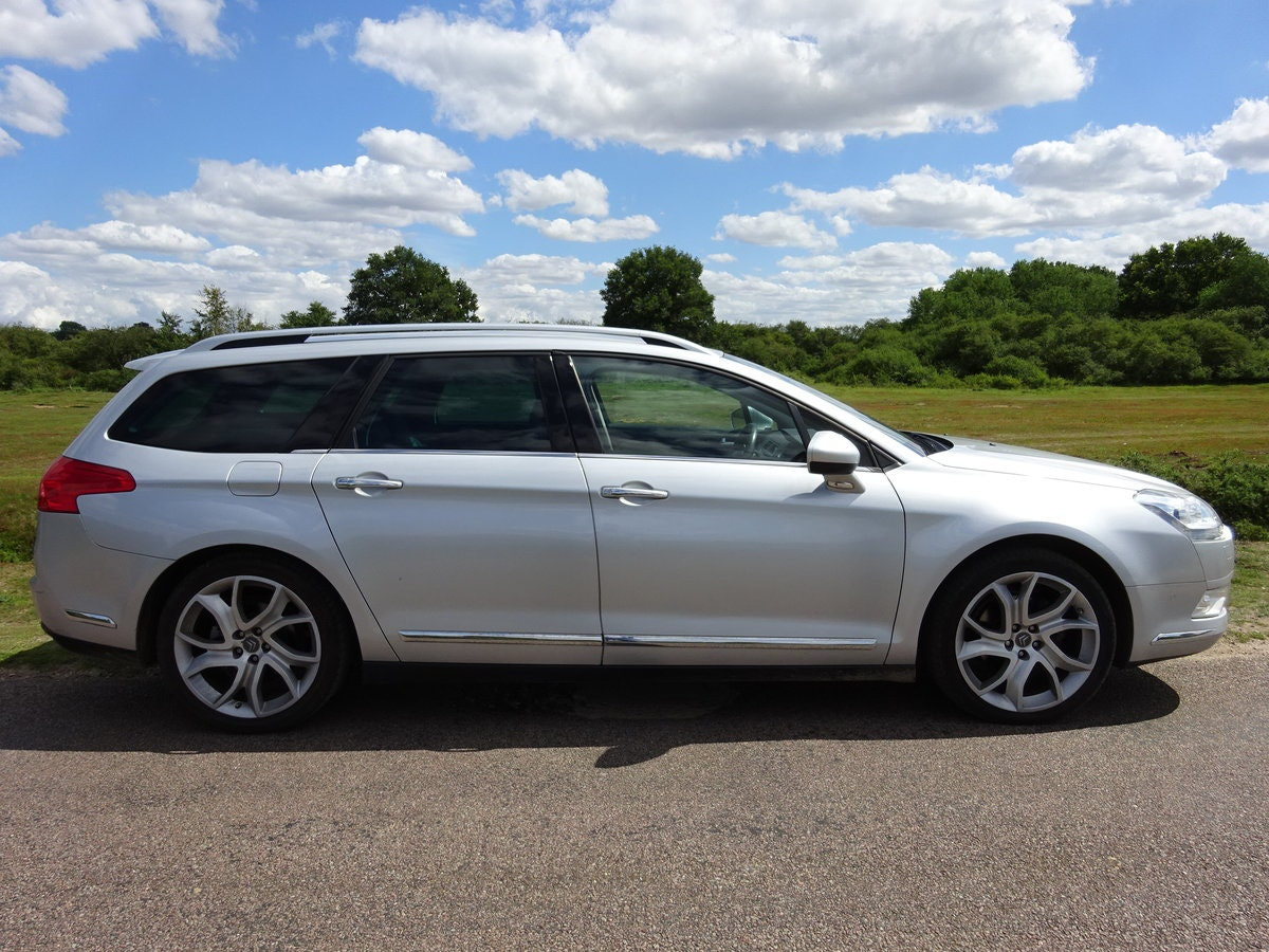 2010 CITROEN C5 2.0HDi ( 160bhp ) EXCLUSIVE, HALF LEATHER, 6 SPD SOLD (picture 3 of 6)