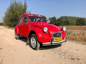 2cv6 Rouge vallelunga 03-1986 95.168 km For Sale (picture 1 of 6)