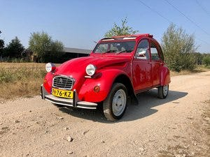 2cv6 Rouge vallelunga 03-1986 95.168 km For Sale (picture 2 of 6)