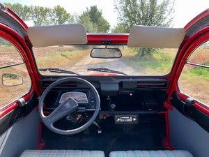 2cv6 Rouge vallelunga 03-1986 95.168 km For Sale (picture 4 of 6)