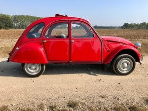 2cv6 Rouge vallelunga 03-1986 95.168 km For Sale (picture 6 of 6)