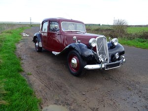 1955 Traction avant light 15 rare slough built rhd SOLD (picture 1 of 12)