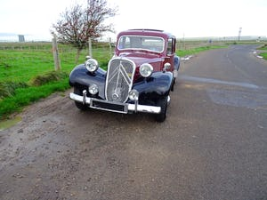 1955 Traction avant light 15 rare slough built rhd SOLD (picture 3 of 12)