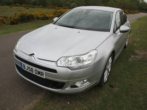 2008 (58) CITROEN C5 2.7HDi V6,EXCL.LEATER,SAT NAV..... SOLD (picture 1 of 6)