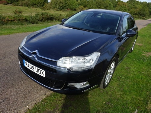 2009 CITROEN C5 2.7HDi,EXCLUSIVE,BOURRASQUE BLUE SOLD (picture 1 of 6)