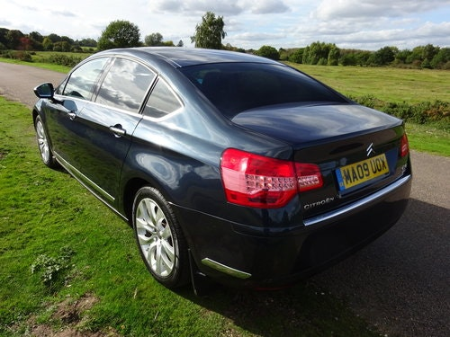 2009 CITROEN C5 2.7HDi,EXCLUSIVE,BOURRASQUE BLUE SOLD (picture 3 of 6)