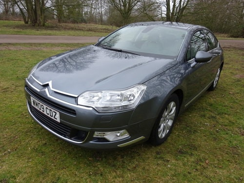2009 CITROEN C5 2.0i 16v EXCLUSIVE,AUTO,LEATHER 37,000 MILES  SOLD (picture 1 of 6)