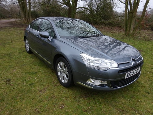 2009 CITROEN C5 2.0i 16v EXCLUSIVE,AUTO,LEATHER 37,000 MILES  SOLD (picture 2 of 6)