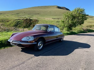 1971 Beautiful Citroen DS21ie Pallas LHD BVH For Sale (picture 1 of 12)