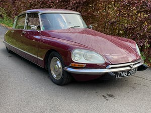 1971 Beautiful Citroen DS21ie Pallas LHD BVH For Sale (picture 8 of 12)