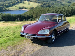 1971 Beautiful Citroen DS21ie Pallas LHD BVH For Sale (picture 10 of 12)