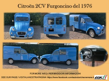 Picture of 1976 Citroën 2CV Furgoncino For Sale