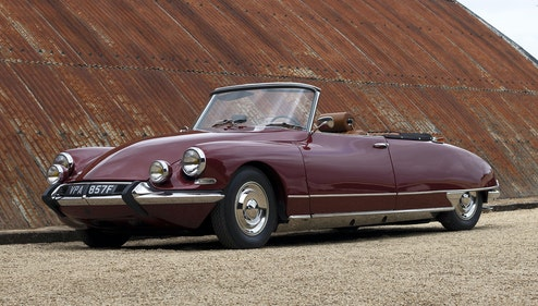 Picture of 1967 Citroen DS21 Cabriolet by Henry Chapron For Sale