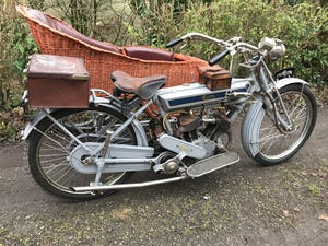 1911 Clyno 650cc V Twin Veteran Motorcycle. For Sale (picture 2 of 10)