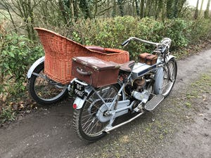 1911 Clyno 650cc V Twin Veteran Motorcycle. For Sale (picture 4 of 10)