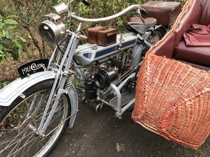 1911 Clyno 650cc V Twin Veteran Motorcycle. For Sale (picture 10 of 10)